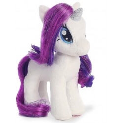TY Sparkle My Little Pony Rarity 41cm Unicorn Gosedjur Mjukisdjur