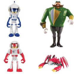 Sonic The Hedgehog 4-Pack Sonic Boom Multi-Figure Pack Action Figure