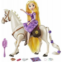 Disney Tangled the Series Rapunzel Doll And Royal Horse Maximus