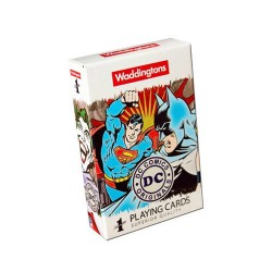 Waddingtons Playing Cards Pack - DC Superheroes Retro