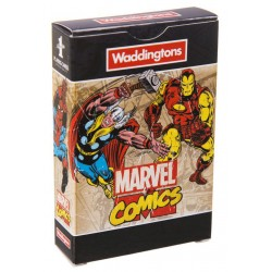 Waddingtons Playing Cards Pack - Marvel Comics Retro