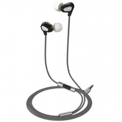 Celly Headset Dual Driver In-ear hovedtelefoner Sort