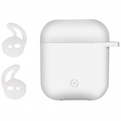 Celly Airpod Fodral Väska Aircase Sporthooks Set Vit Celly Airpods Case & Hooks WHITE Celly 229,00 kr