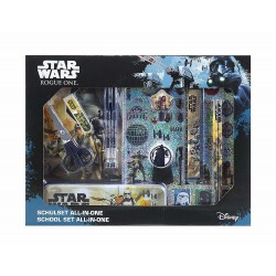 Disney Star Wars All-in-one 11pcs School Set Writing Set & Stickers