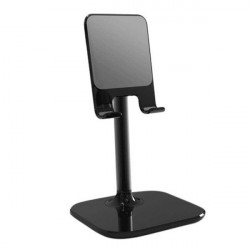Universal Desktop Holder For Mobile & Tablet Black