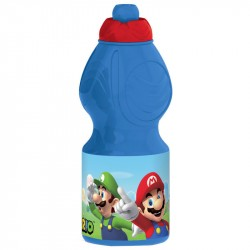 Nintendo Super Mario Luigi Yoshi Plastic Bottle Light Blue