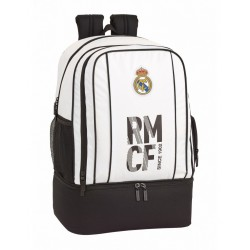 Real Madrid Sport Bag Backpack With Shoe Compartment Reppu Laukku 50cm