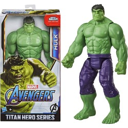 Avengers Deluxe Titan Hero Series Hulk Figure With Blast Gear Port 30cm