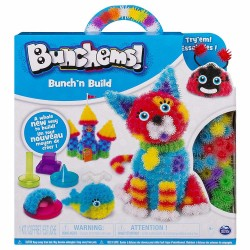 Bunchems Bunch'n Build Activity Kit With 4 Shaper Moulds And 400 Bunchems