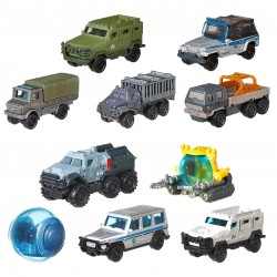 10-Pack Matchbox Jurassic World Die-Cast Vehicles/Cars