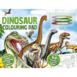 Dinosaur Artist Pad A3 Colouring Activity Book With Stickers