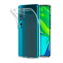 Xiaomi Mi Note 10/Note 10 Pro Suojakuori Soft TPU Case Ultra Slim Cover Transparent