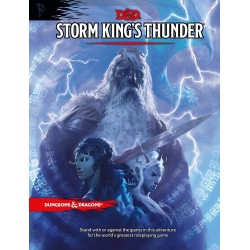 Dungeons & Dragons RPG Book -Storm King's Thunder