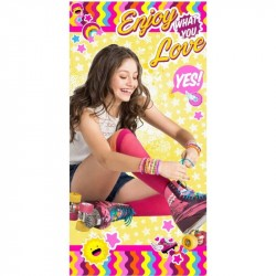 Soy Luna Enjoy What You Love Kids Towel 140*70 cm
