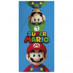 Nintendo Super Mario Mario And Luigi Kids Beach Towel 70x140cm