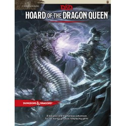 D&D RPG - Book - Tyranny of Dragons Hoard of the Dragon Queen D&D BOOK - Hoard Dragon Queen D&D Dungeons & Dragons 499,00 kr