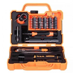Jakemy Proffesional Screwdriver Electronic Set - 45 in 1