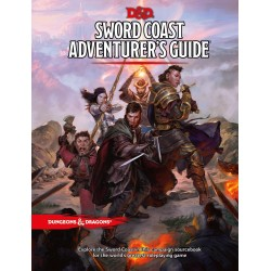Dungeons & Dragons RPG Book - Sword Coast Adventurer's Guide