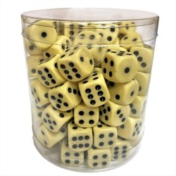 Dices - D6 Mega Pack 100-Pack 14mm Board Games Role Play