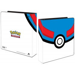 "UP Pokemon 2"" D-Ring Binder - Pokémon Card Featuring Great Ball"
