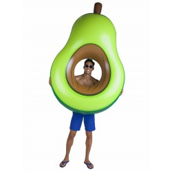 Bigmouth Inflatable Air Mattress Bed Floating Lounge Giant Avocado 170 cm