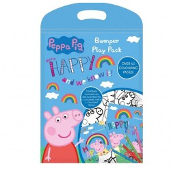 Peppa Pig Bumper Play Pack Drawing Travel Pack