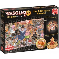 Wasgij (2x1000pcs) Original 27 The 20th Anniversary Party Parade Jigsaw Puzzle