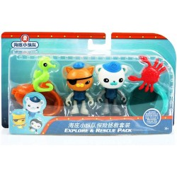 Octonauts 6-Pack Explore & Rescue Pack Set Figures