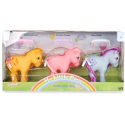 Classic 3-Pack My Little Pony Retro Collector Set Figures