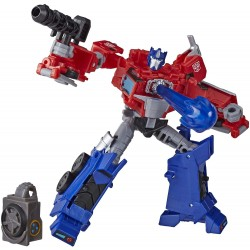 Transformers Cyberverse Adventures Deluxe Class Optimus Prime Action Figure E7096 Cyberverse Optimus Prime Transformers 479...
