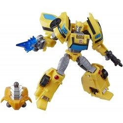 Transformers Cyberverse Adventures Deluxe Class Bumblebee Action Figure E7099 Cyberverse Bumblebee Transformers 479,00 kr p...
