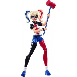 DC Super Hero Girls Harley Quinn Actionfigur Docka 15cm