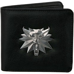 The Witcher 3: Bi-Fold Wallet: White Wolf Lompakko 9x11cm