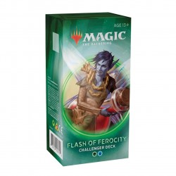 Magic The Gathering - Challenger Deck 2020 - Flash Of Ferocity MTG - FLASH OF FEROCITY Magic The Gathering 495,00 kr