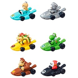 6-Pack Super Mario Monopoly Gamer Mario Kart Power Pack Figures