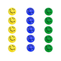Refrigerator magnets Emoji 5-pack Assorted