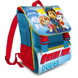 Paw Patrol Chase Marshall Skye Backpack School Bag 41x28x20cm