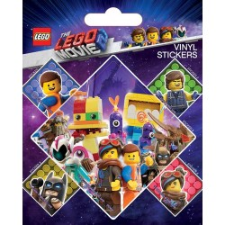 The Lego Movie 2 (Let's Stick Together)Stickers Pack Tarroja