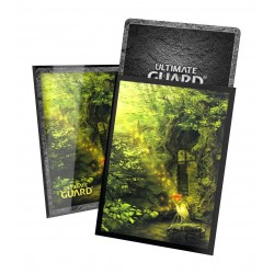 Ultimate Guard Printed Sleeves 66x91mm Forest Lands Edition II