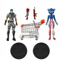 Fortnite 2-Pack Shopping Cart Pack Action Figures War Paint & Fireworks Team Leader 18cm
