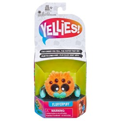 Yellies! Flufferpuff Spider Voice-Activated Pet Toy