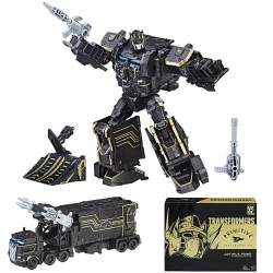 Transformers Primitive Skateboarding Optimus Prime & Shreddicus Maximus Figure