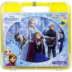 6 in 1 Frozen Frost Cube Puzzle 20 Pieces