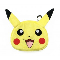 Pokemon Pikachu Plush Pouch Case for Nintendo 2DS/3DS/NEW 3DS/3DS XL