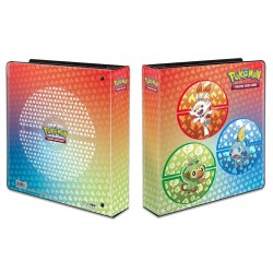 "UP Pokemon 2"" D-Ring Binder - Sword and Shield - Galar Starters"