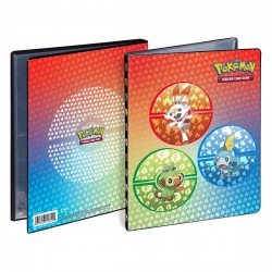 Ultra Pro Pokemon 4-P Portfolio Sword and Shield Gala Starters