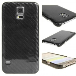 100% Genuine Real Carbon Fiber Case Back Cover Samsung Galaxy S5 / S5 NEO