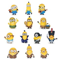 4-Pack Minions Action Poseable Figures 5-8cm Assorted Retail Package