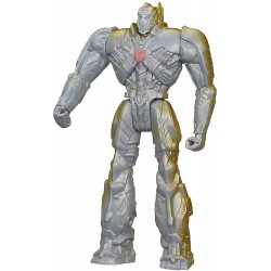 Transformers Silver Knight Optimus Prime Robot Action Figure 30cm