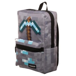 Minecraft Diamond Pickaxe School Bag 47x30x14cm